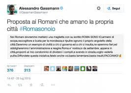 Alessandro Gassmann lancia #romasonoio per ripulire la città