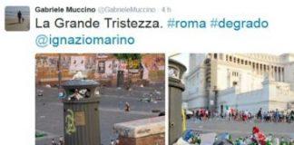 """Il degrado di Roma: per Muccino è """"la grande tristezza"""""""