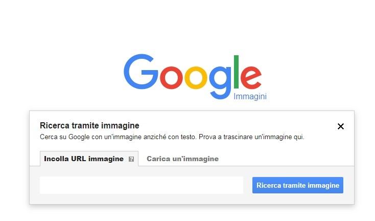 carica immagini google
