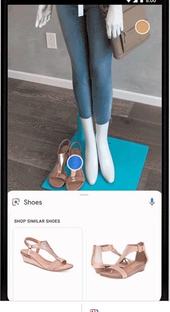 immagini su google lens