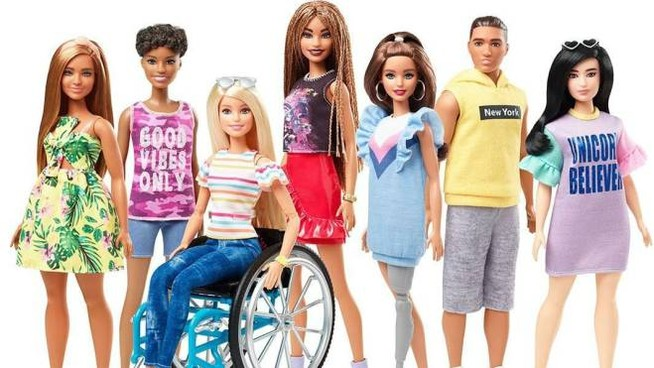 La Barbie su sedia a rotelle - Quotidianpost