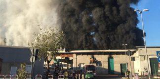 Incendio al Tmb Salario: in fumo i rifiuti della discordia
