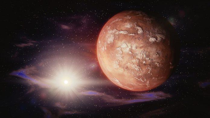 Marte scoperto un lago salato