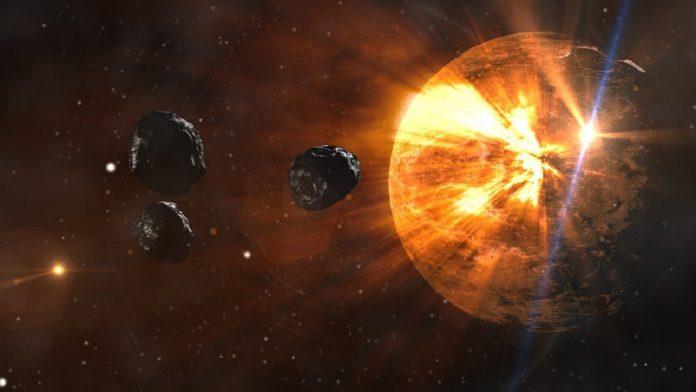Materia organica extraterrestre scoperta sulla terra