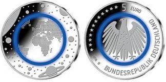 """""""Blue Planet Earth"""": la nuova moneta tedesca"""