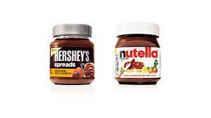Hershey's contro Nutella
