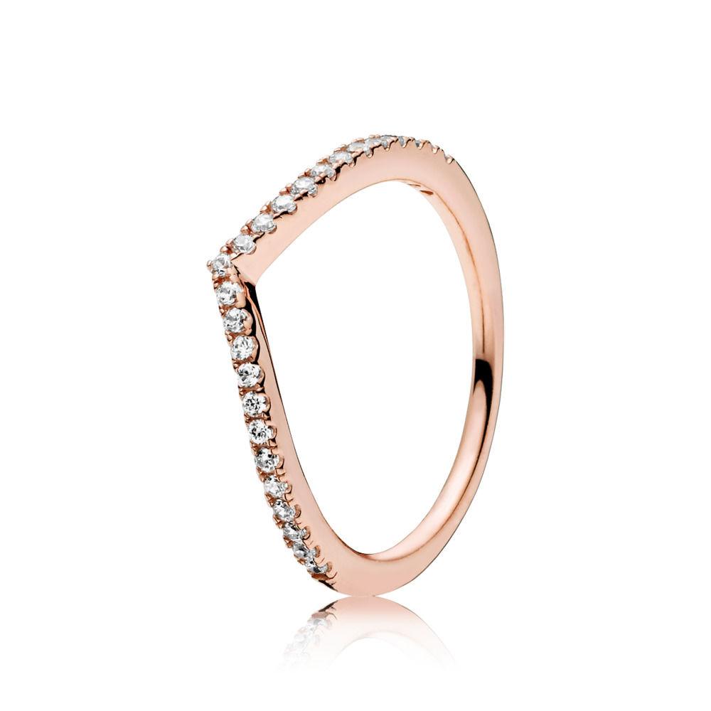 pandora anello corona rosa