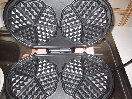 Piastra per waffel SilverCrest – Recensori x caso