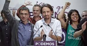 Elezioni in Spagna: grande ascesa di Podemos