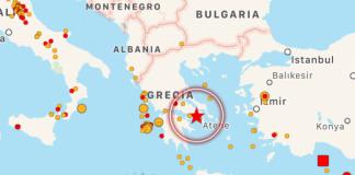 Terremoto ad Atene: trema l'Acropoli
