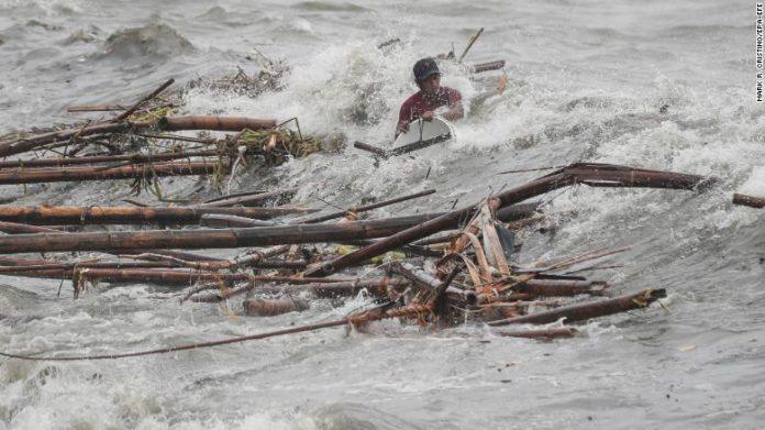 Dopo il passaggio del tifone Mangkhut si contano i morti