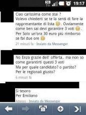 voto di scambio denuncia D'Ambrosio