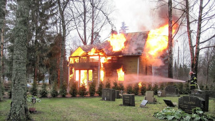 esplosione in cascina disabitata