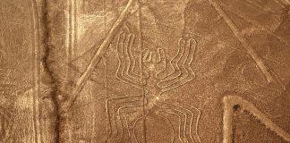 Geoglifo associato alle linee di Nazca