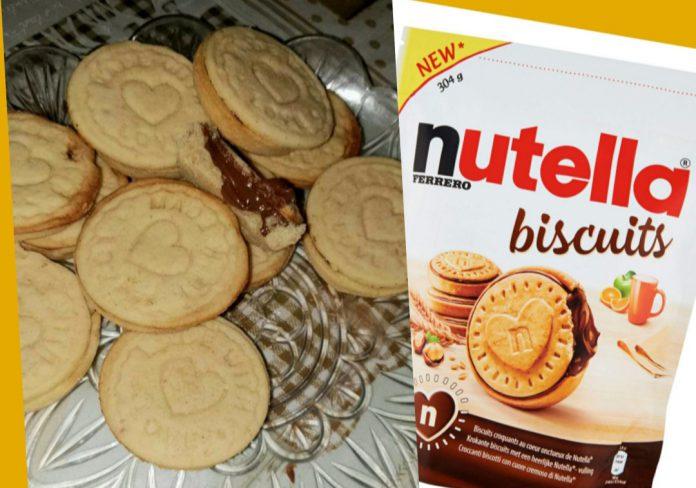 Nutella biscuits ricetta casa