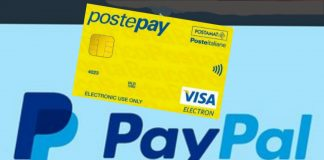Ricaricare postepay con paypal