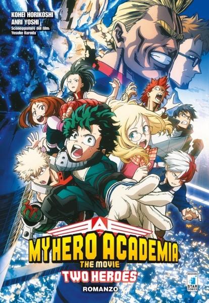 My Hero Academia – the movie |  two heroes – romanzo |  dal cinema alla fumetteria