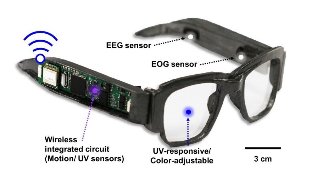Gli occhiali elettronici che monitorano la salute e diventan
