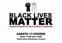 Black Lives Matter, la manifestazione pacifica organizzata dalla giovane crotonese Chiara Pugliese