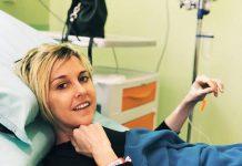 Nadia Toffa in ospedale