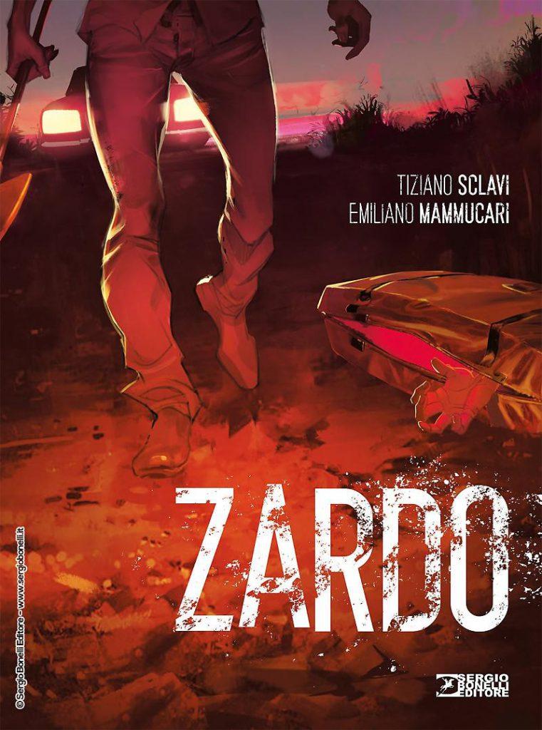 """""""Zardo"""" di Tiziano Sclavi in libreria e fumetteria dall'11 g"""
