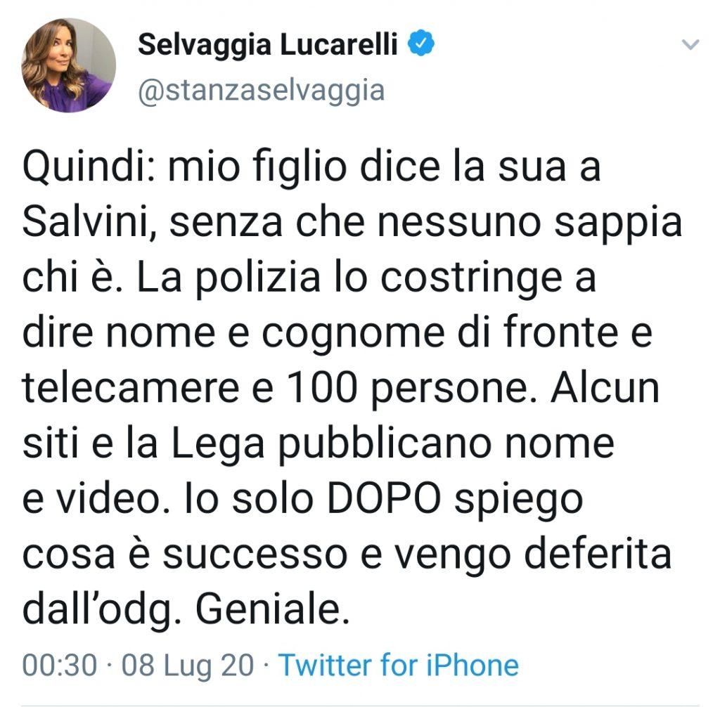 Selvaggia Lucarelli deferita dall'Ordine dei giornalisti: la