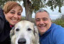 Bendetta Rossi e il marito Marco