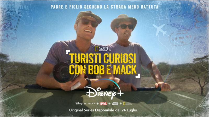 Disney+ ha diffuso il trailer di Turisti Curiosi con Bob e M