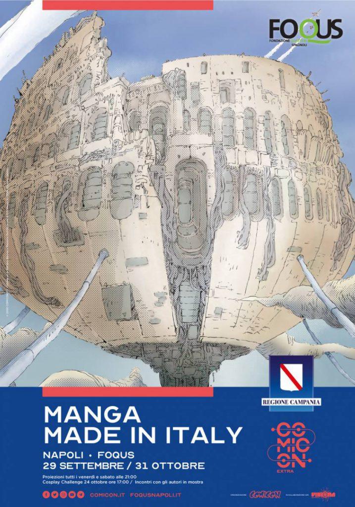 "Comicon Extra: a Napoli la mostra ""Manga made in Italy"""